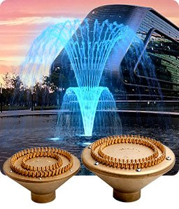 Floating Fountain Nozzles